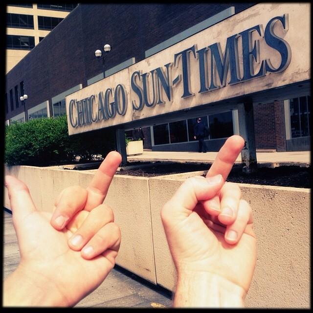 《芝加哥太阳报》摄影师现状