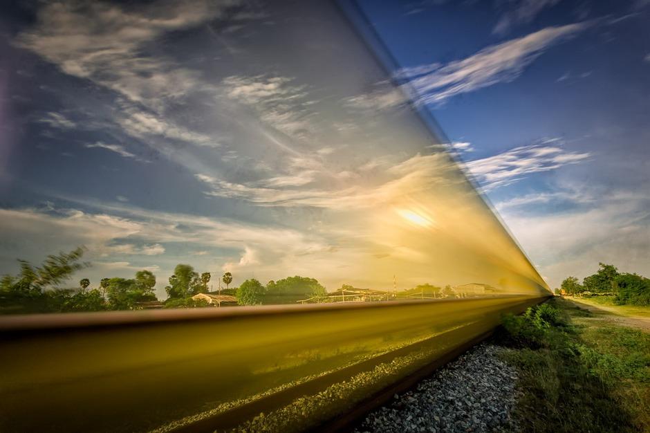 风光摄影:火车日记