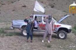 塔利班公布被俘美军士兵获释现场画面