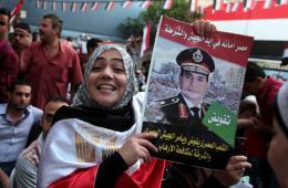 塞西当选埃及新总统 民众大肆庆祝