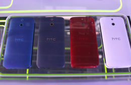 时尚手机旗舰配置 HTC One时尚版现场图赏