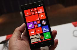 2014年台北电脑展新品展示:诺基亚Lumia Icon