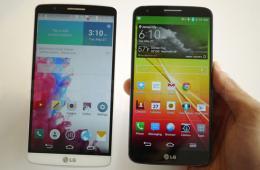 背后按键独一家 LG G3与LG G2对比图赏