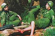 对越反击战时期中国女兵照片