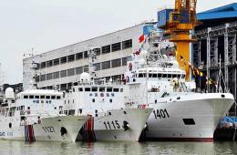 海警 我国 千吨 交付 一艘/我国新一艘4千吨级海警船交付