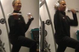 奥巴马在波兰酒店锻炼遭偷拍 安全局展开调查