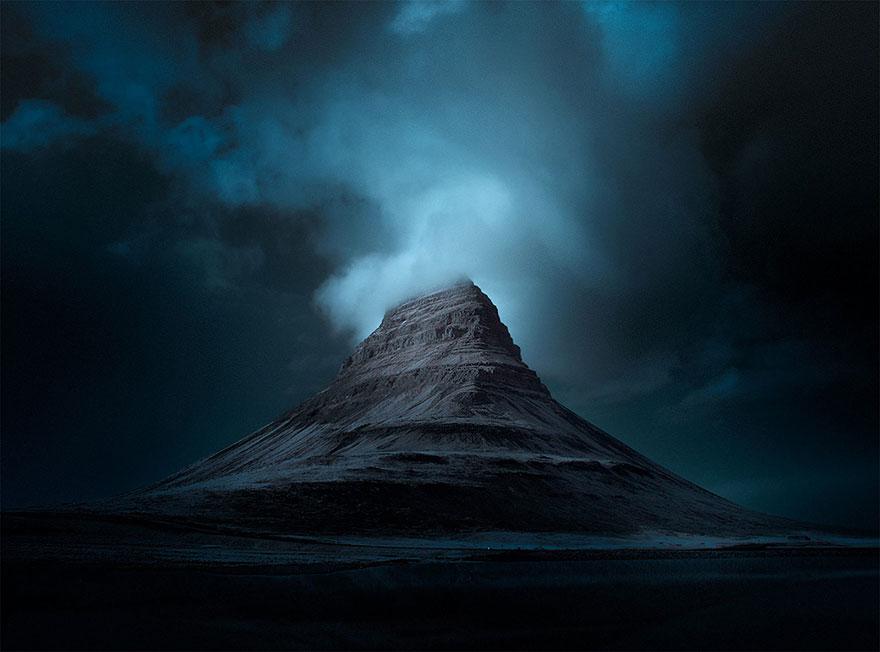 红外透镜下的壮美冰岛