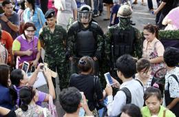 """泰军方推""""还快乐于民""""活动 塑形象助民众忘记政变"""