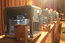 三纬展示3款3D打印机 细分3D打印市场