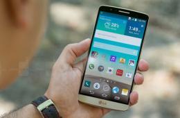 2K高清屏激光对焦 金色版LG G3真机图赏