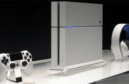 索尼E3 2014发布冰川白PS4 高清图赏