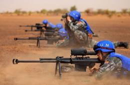 我维和部队用国产大狙非洲发威