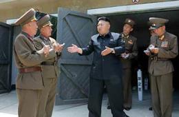金正恩突然现身朝鲜东海前哨