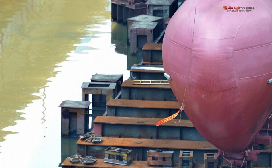 中国 南海/最新建造的中国海警3402船下水(鸣谢:超大军事魔牛小队)