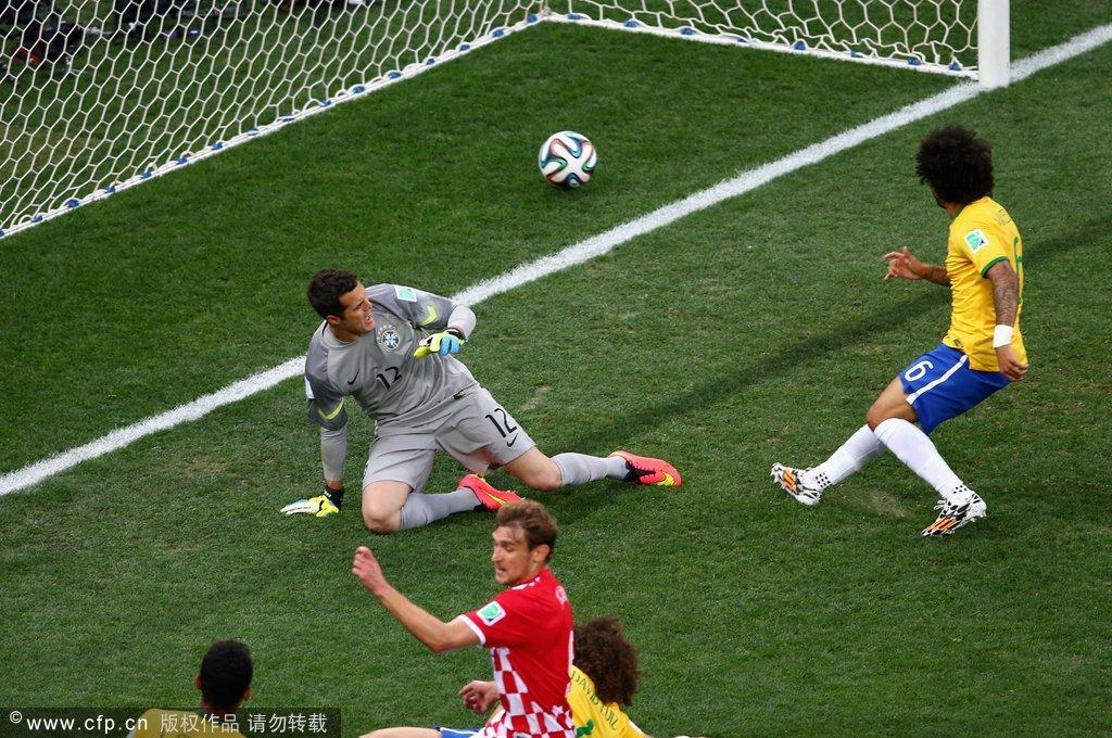2014年6月12日,巴西圣保罗,2014巴西世界杯揭幕战,巴西Vs克罗图片