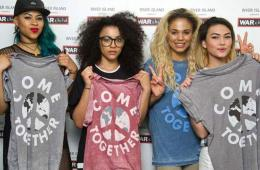 """""""在一起""""国际慈善派对 众明星齐心推广限量爱心T恤"""