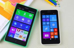跨平台大比拼 Lumia 630对比Nokia XL