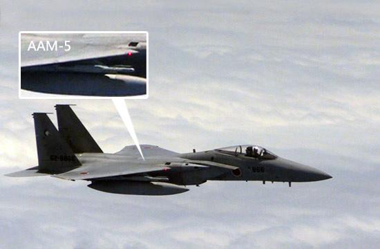 日本F-15携最先进导弹挑衅我军图154危险内幕