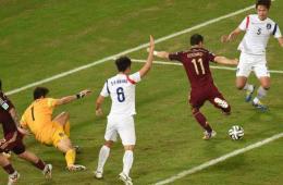 韩国1-1俄罗斯 亚洲球队首轮不胜