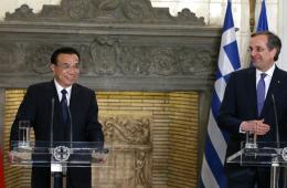 李克强与希腊总理会谈并共同会见记者