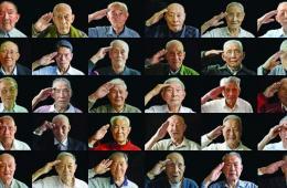 南京大学生寻找3个月 拍下30位抗战老兵军礼照