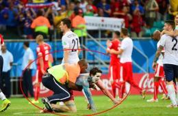 2014世界杯赛场上的不速之客