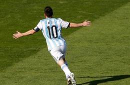 梅西补时世界波绝杀 阿根廷队1-0伊朗