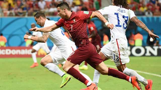 还没出局!C罗补时助攻 葡萄牙2-2险平美国