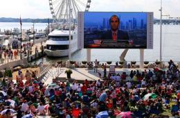 美国球迷观看世界杯直播