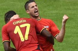 比利时1-0绝杀俄罗斯提前出线