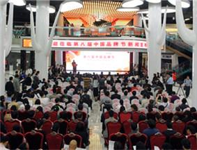 第八届中国品牌节新闻发布会现场