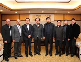 贵阳市委书记陈刚会见品牌中国产业联盟主席艾丰