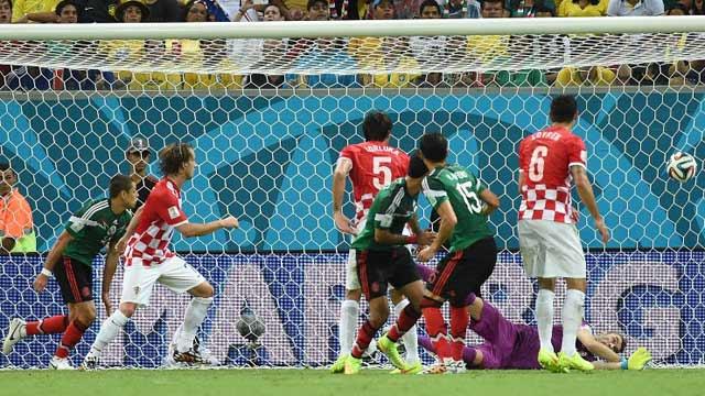 墨西哥3-1克罗地亚出线战荷兰