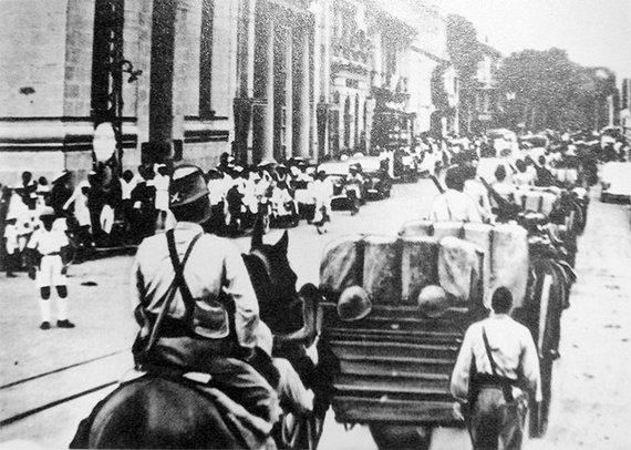 日军曾饿死200万越南人 现在却跳出来援越抗华