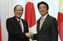 菲律宾总统访日与安倍会面 或谈海上局势