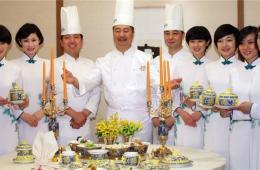 韩国一酒店邀请钓鱼台职员 模拟中国国宴推高档晚宴
