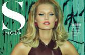 超模托妮·伽恩登《S Moda》杂志封面