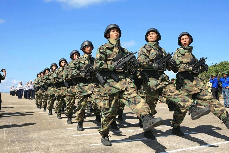 越南特种部队大量引进欧美新枪_军事_环球网