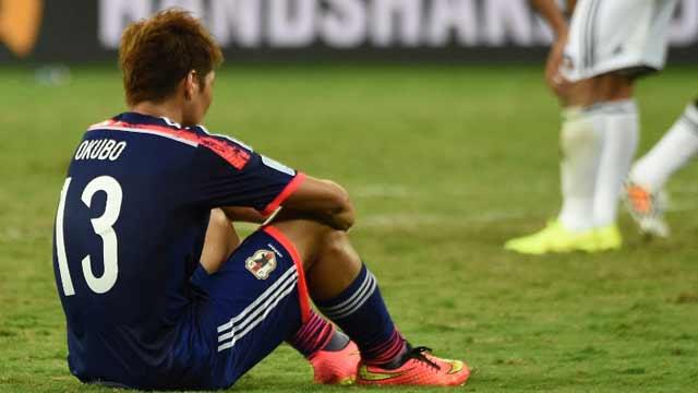 哥伦比亚4-1日本 日本小组垫底出局