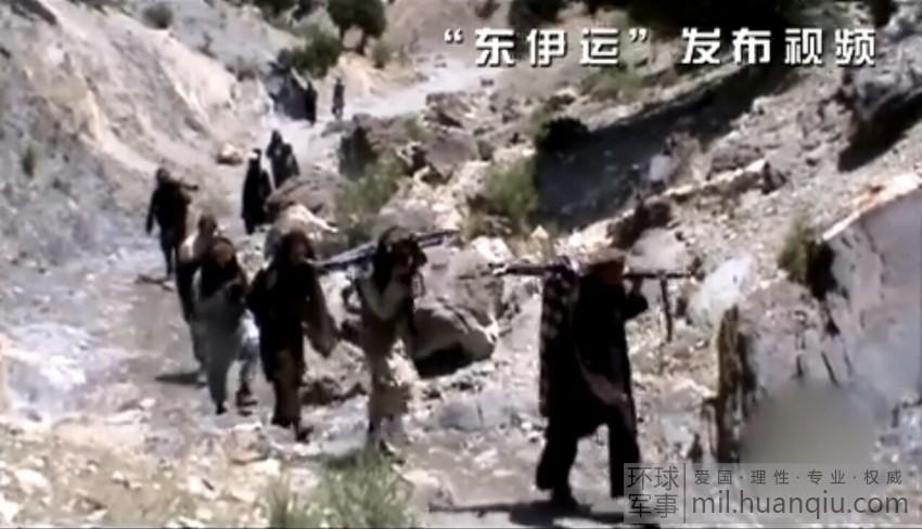 """画面 曝光 东伊运/""""东伊运""""恐怖组织训练画面(3/25)"""