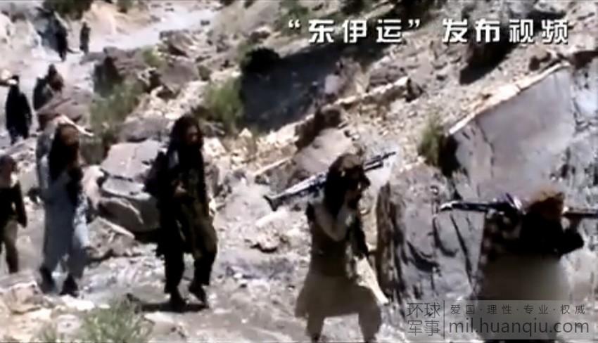 """董存瑞/""""东伊运""""恐怖组织训练画面(4/25)"""