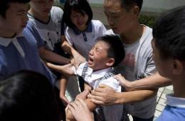 广西孤儿获捐200万后被亲属强带回家(图)