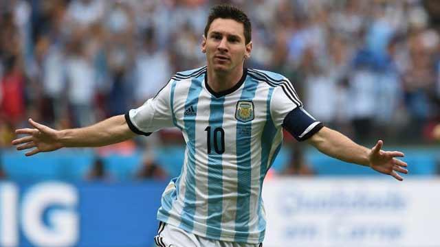 阿根廷3-2尼日利亚 梅西进两球领跑射手榜