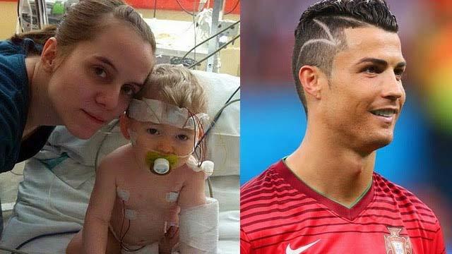 C罗世界杯新发型背后感人故事 虽有乌龙但依旧暖心