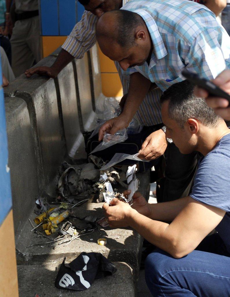 开罗/埃及开罗地铁站发生多起爆炸至少5人受伤(1/5)