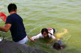 实拍东营女孩跳水救人全程 悄然离去引全城搜索