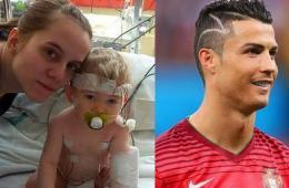 C罗世界杯新发型背后的感人故事 虽有乌龙但依旧暖心