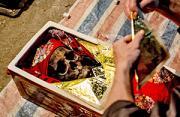 纪实摄影:越南再葬式