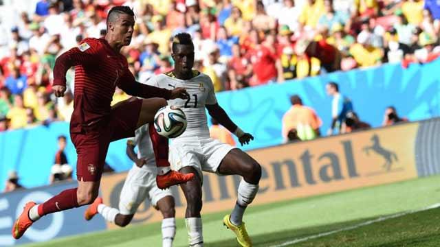 再见C罗!葡萄牙2-1加纳因净胜球少出局