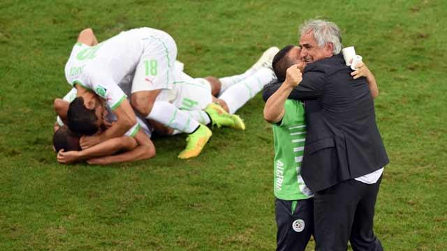阿尔及利亚1-1俄罗斯晋级 1/8决赛将战德国